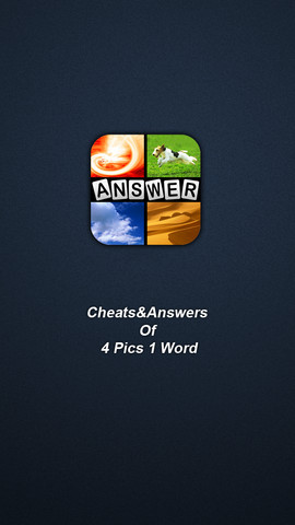 Cheats&Answer For 4 Pics 1 Word 1.0.0
