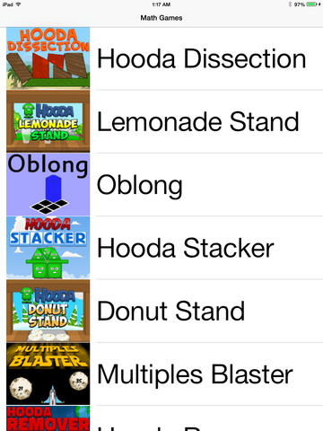 Hooda Math Mobile math games