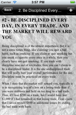 Day trading rules for options