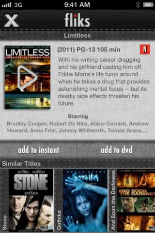 Fliks for Netflix