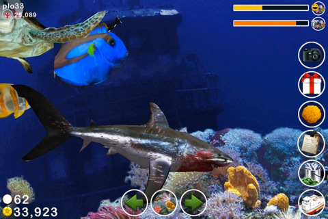 Tap reef fish farm app for ipad iphone games for Tap tap fish game