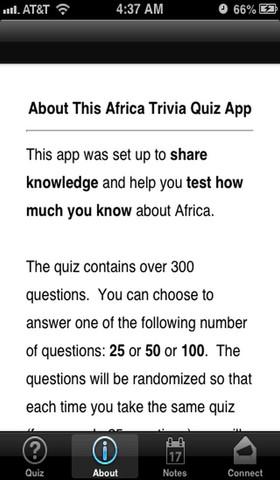 AfricaTrivia Free africa map quiz