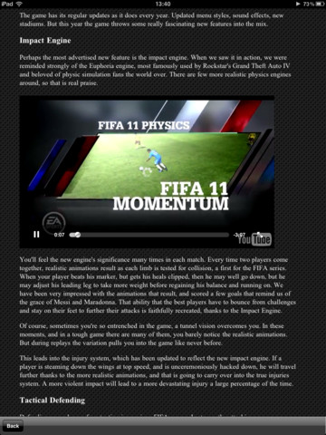 Guide for FIFA 12 HD fifa games free