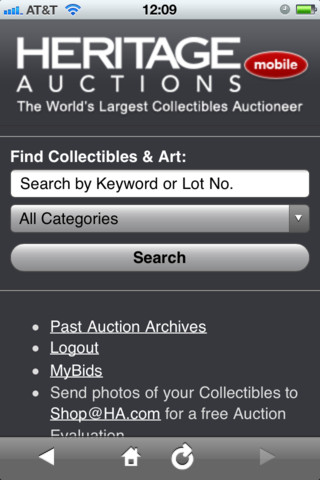 Heritage Auctions auctions international