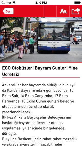 Ankara Yerel Haber ankara