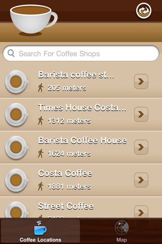 Coffee Shop Finder coffee shop