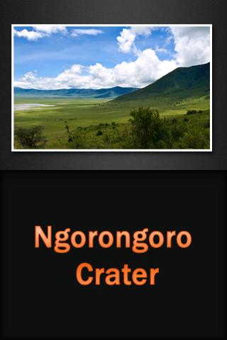 Ngorongoro Crater yucatan peninsula crater