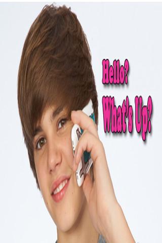 Call Justin Bieber * call justin bieber now