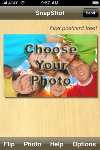 SnapShot Postcard postcard printing