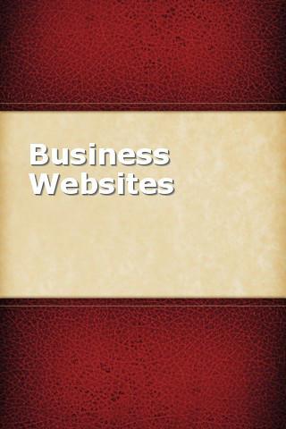 Business Websites websites for francophiles
