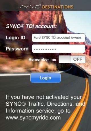 SYNC® Destinations