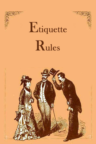Etiquette Rules etiquette for kids