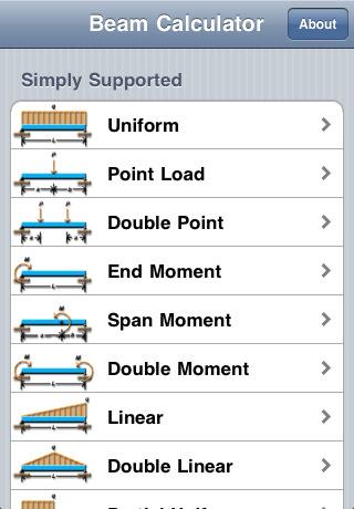 Ws Beam Calculator App For Ipad Iphone Productivity