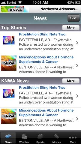 KNWA Northwest Arkansas News, Fox News Edge, and Razorback Nation fox news app