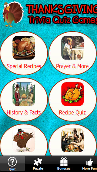 Thanksgiving Trivia & Quiz - Great game to learn about Thanksgiving recipes prayer football facts and more! thanksgiving recipes pdf
