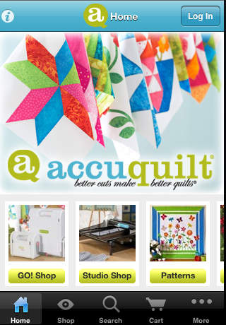 AccuQuilt printing on fabric