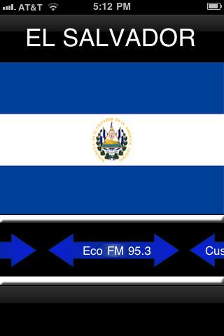 El Salvador Radios el salvador flag
