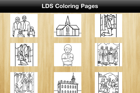 Coloring Pages on Lds Coloring Pages 1 03 App For Ipad  Iphone   Games   App By Lds