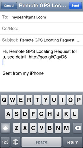Remote GPS Locator