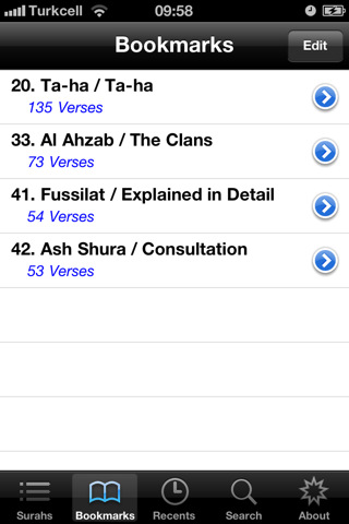 Holy quran english app for ipad iphone reference