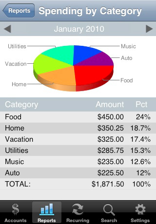 Accounts - Checkbook 4.3.5