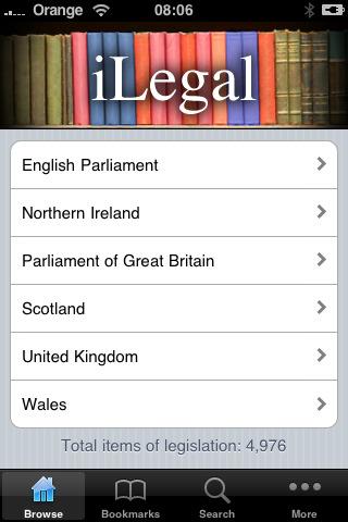 iLegal Legislation