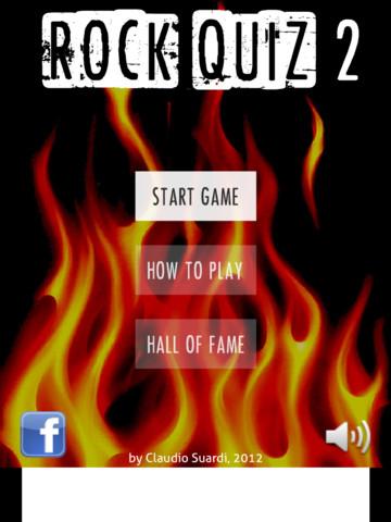 Rock Quiz 2 for iPad rock music cruises 2017