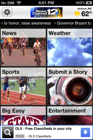 WJTV News Channel 12 App for iPad - iPhone - News