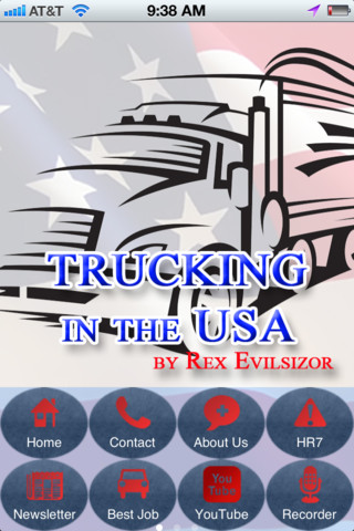 Trucking in the USA freight trucking business