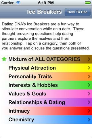 Funny online dating icebreakers