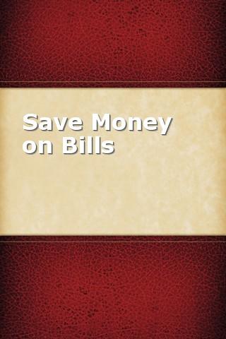 Save Money on Bills spainophile