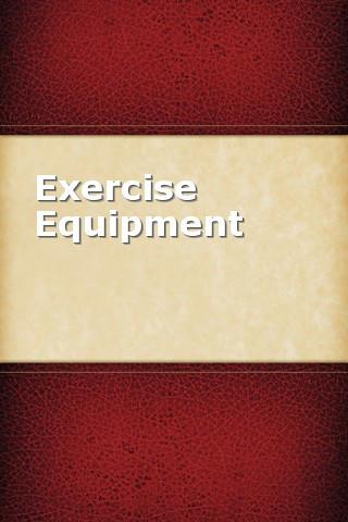 Exercise Equipment camping equipment