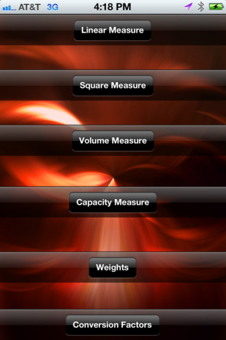 Metric Equivalents units of measure