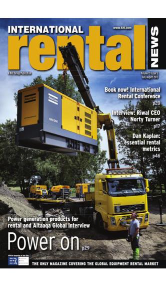 International Rental News - The Only Worldwide Equipment Rental Magazine projector screens rental