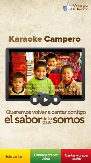 Campero Karaoke El Salvador el salvador flag
