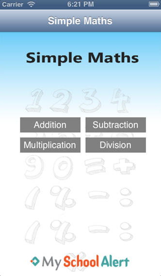 SimpleMaths elementary educational games