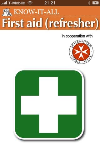 First Aid (Refresher)