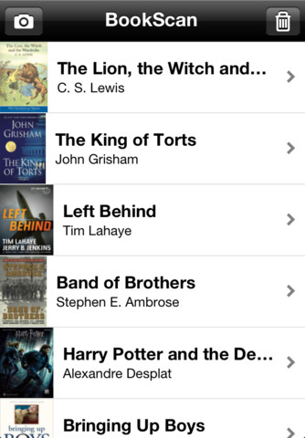 BookScan for iBooks