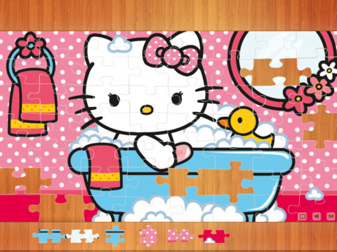 1915 3 puzzle. hello kitty Puzzle Games Kitty Party