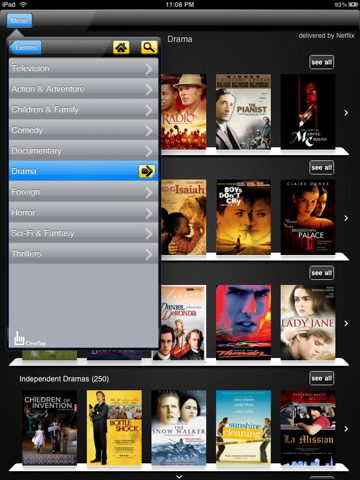 CineTap for Netflix