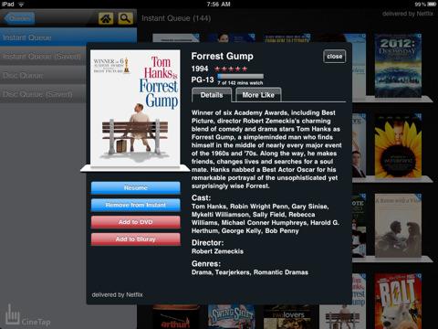 CineTap for Netflix