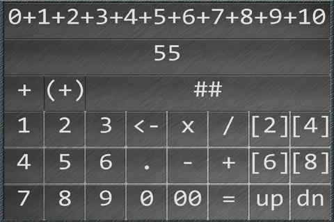 Fast Calculator Pro printing press history