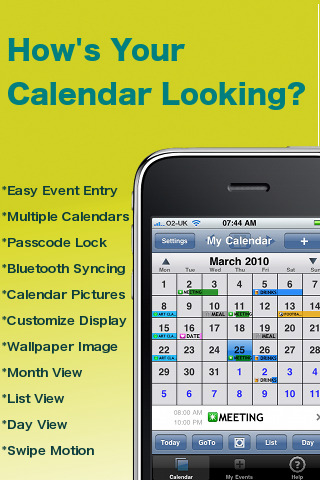 PocketLife Calendar