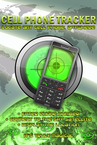 "A Cell Phone Trackerâ""¢"