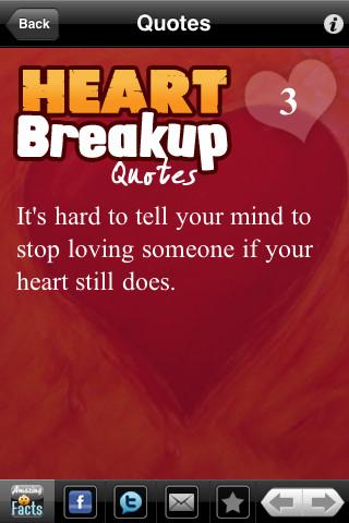 Publisher's description - Broken Heart Quotes 1.1