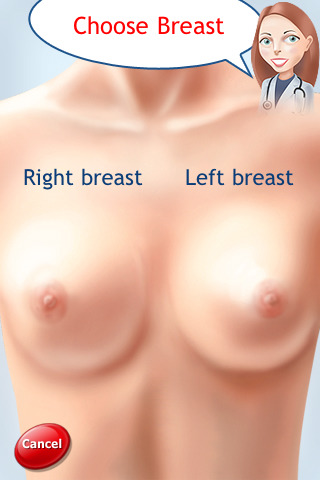 Sore breasts and left cramp