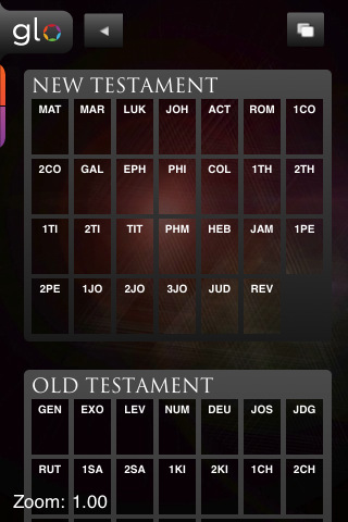 Glo Bible for iPhone