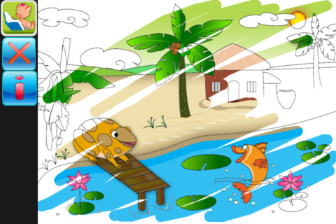 Magic Paint For Kids App For IPad