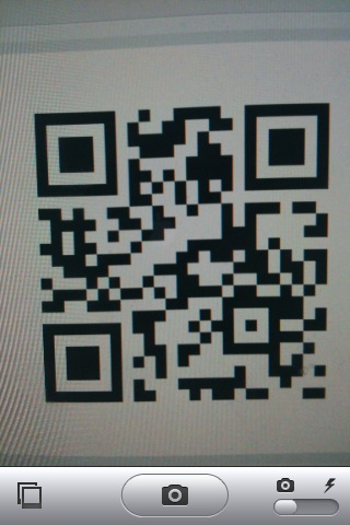 QR Reader for iPhone 3.0