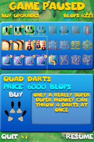 Bloons 9 game http appfinder lisisoft com app bloons super monkey